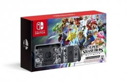 Nintendo Switch Super Smash Bros Ultimate edition Bundle nintendo-switch