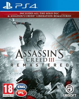 Assassin's Creed 3 Remastered + Assassin's Creed Liberation PS4 playstation-4