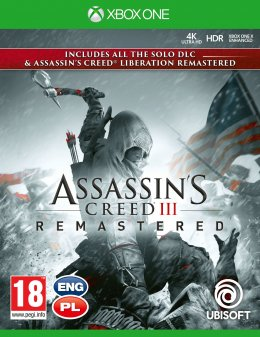 Assassin's Creed 3 Remastered + Assassin's Creed Liberation Xbox One xbox-one