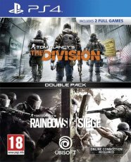 Tom Clancy's The Divison + Tom Clancy's Rainbow Six Siege Double Pack - Playstation 4
