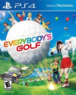 Everybody's Golf - Playstation 4 playstation-4