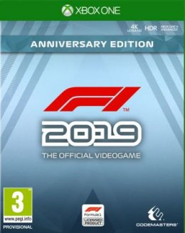F1 2019 Anniversary Edition Xbox One xbox-one
