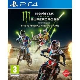 Monster Energy Supercross - Official Videogame (PS4) PlayStation 4
