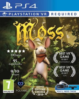 Moss VR (PS4) playstation-4
