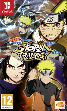 Naruto Shippuden: Ultimate Ninja Storm Trilogy (Nintendo Switch) nintendo-switch