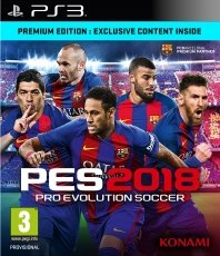 Pro Evolution Soccer 2018 Premium Edition (PES 18) (PS3)