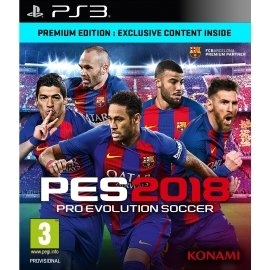 Pro Evolution Soccer 2018 Premium Edition (PES 18) (PS3) PlayStation 3