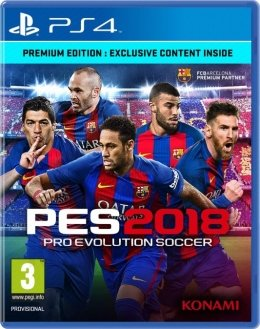 Pro Evolution Soccer 2018 Premium Edition (PES 18) (PS4) playstation-4