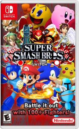 Super Smash Bros Ultimate - Nintendo Switch nintendo-switch