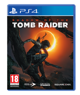 Shadow of The Tomb Raider - Playstation 4 playstation-4