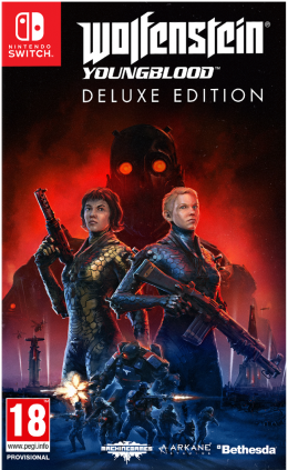 Wolfenstein: Youngblood Deluxe Edition Nintendo Switch nintendo-switch