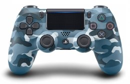 New Dualshock 4 Wireless Controller Blue Camouflage (Kék) playstation-4