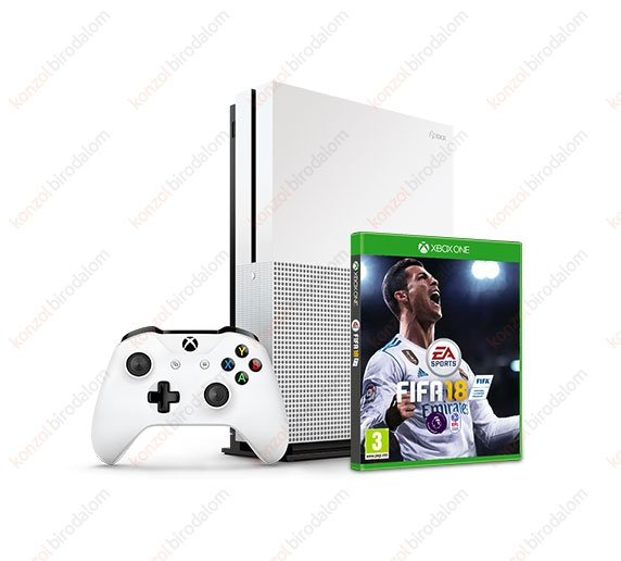 microsoft xbox one s 500gb fifa 18 xbox one konzolok. Black Bedroom Furniture Sets. Home Design Ideas
