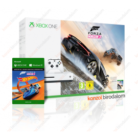 Xbox One S 500 GB Forza Horizon 3 ajándék Hot Wheels DLC Bundle Xbox One