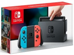 Nintendo Switch Neon Red/Neon Blue (piros, kék) nintendo-switch