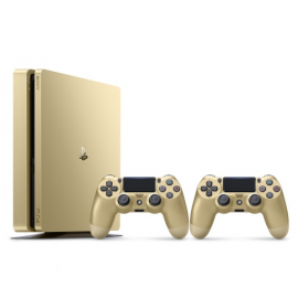 Sony Playstation 4 Slim 500 GB Limited Edition Gold 2db Dualshock 4 kontrolerrel (PS4 Slim) PlayStation 4