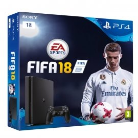 Sony PlayStation 4 Slim 1TB + FIFA 18 PlayStation 4