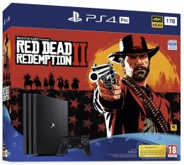 PlayStation 4 Pro (PS4 Pro) 1TB + Red Dead Redemption 2 playstation-4