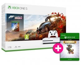 Xbox One S 1TB + Forza Horizon 4 + Rare Replay Family Bunde xbox-one
