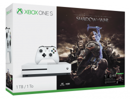 Xbox One S 1TB Middle-Earth: Shadow of War Bundle xbox-one