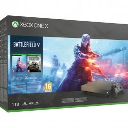 Xbox One X 1TB + Battlefield V Gold Rush Special Edition xbox-one