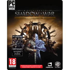 Middle-earth: Shadow of War Gold Edition (PC) PC