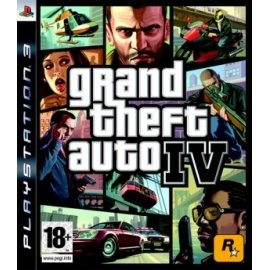Grand Theft Auto IV (GTA 4) (PS3) PlayStation 3
