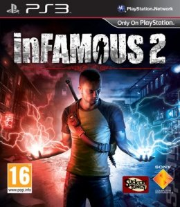 Infamous 2  playstation-3