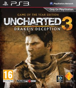 Uncharted 3 Drakes Deception Game of The Year playstation-3