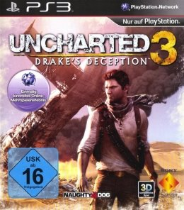 Uncharted 3 Drakes Deception (PS3) playstation-3