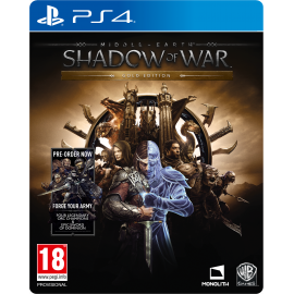 Middle-earth: Shadow of War Gold Edition (PS4) PlayStation 4
