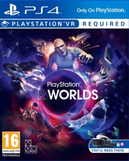 Playstation VR Worlds borító playstation-4