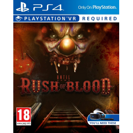 Until Dawn Rush of Blood - Playstation 4 (PSVR) PlayStation 4