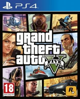 Grand Theft Auto V (GTA 5) (PS4) playstation-4