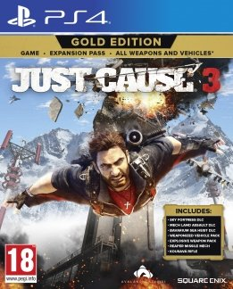 Just Cause 3 Gold Edition playstation-4