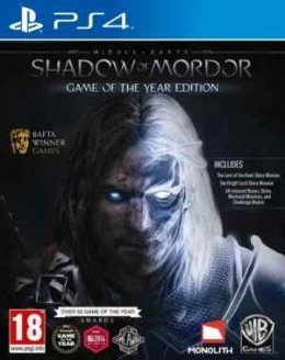 Middle-Earth Shadow of Mordor Game of the Year Edition (GOTY) playstation-4