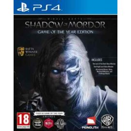 Middle-Earth Shadow of Mordor Game of the Year Edition (GOTY) (PS4) PlayStation 4