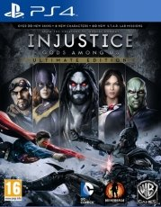 Injustice Gods Among Us Ultimate Edition - Playstation 4