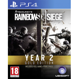 Rainbow Six Siege Year 2 Gold Edition (PS4) PlayStation 4