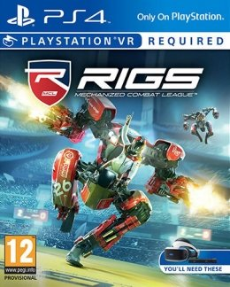 RIGS Mechanized Combat League (PlayStation VR) (PS4) playstation-4