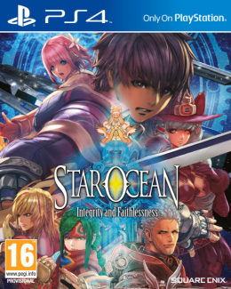 Star Ocean: Integrity and Faithlessness - Playstation 4 playstation-4