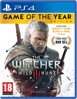 The Witcher III (3): Wild Hunt Game of the Year Edition (PS4) playstation-4