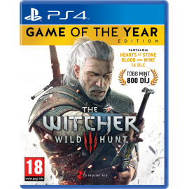 The Witcher III (3): Wild Hunt Game of the Year Edition (PS4) PlayStation 4