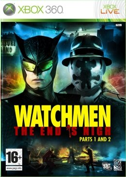Watchmen The End is Nigh Parts 1 and 2 xbox-360