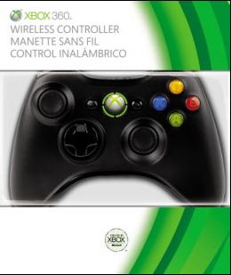Microsoft Xbox 360 Wireless Controller (vezeték nélküli kontroller) fekete 31844a2d05