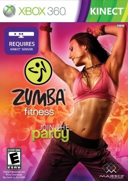 Zumba Fitness Join the Party (Kinect) (Xbox 360) xbox-360